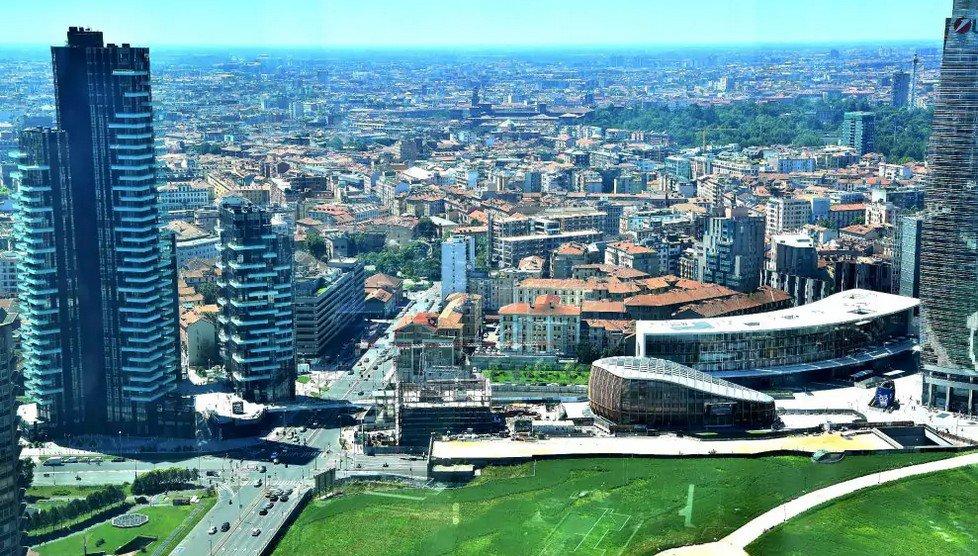 Apertura Domenicale Del Belvedere Di Palazzo Lombardia A