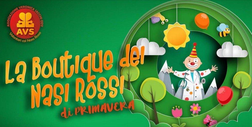 La Boutique dei Nasi Rossi dell'Associazione Veronica Sacchi