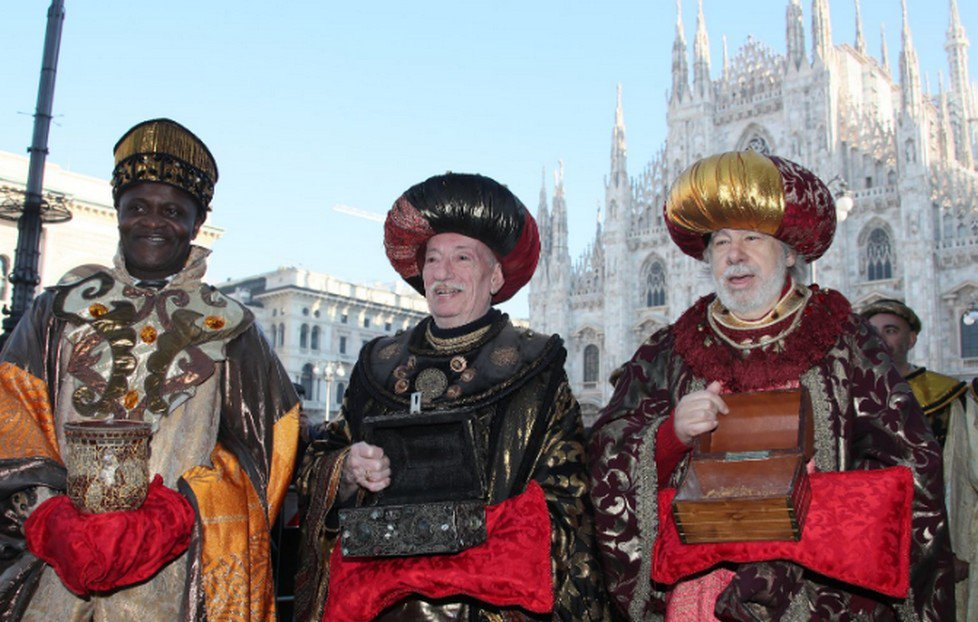 Corteo dei Re Magi dal Duomo a Sant'Eustorgio