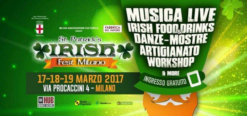 Irish Fest Milano alla Fabbrica del Vapore