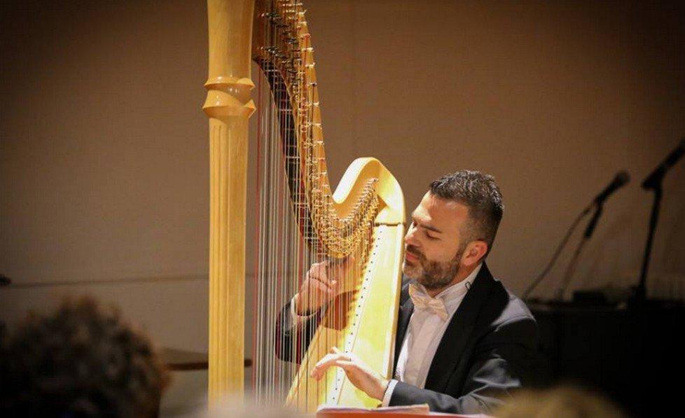 Concerto per flauto e arpa nel Chiostro del Convento dei Padri Carmelitani Scalzi
