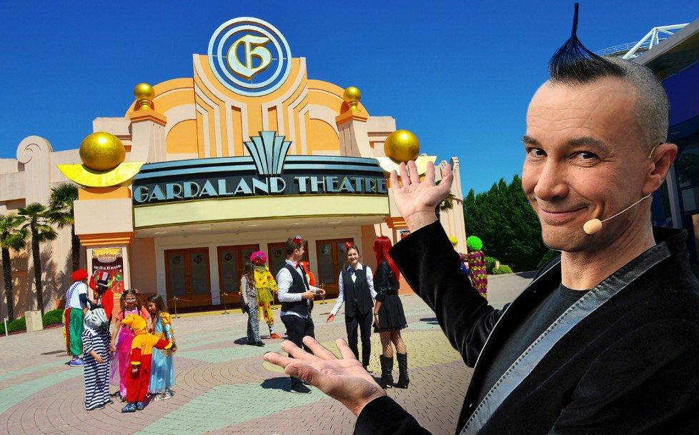 Gardaland Magic Circus con Arturo Brachetti cerimoniere d'eccezione