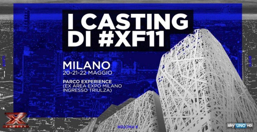 Casting di X Factor 2017 a Experience Milano