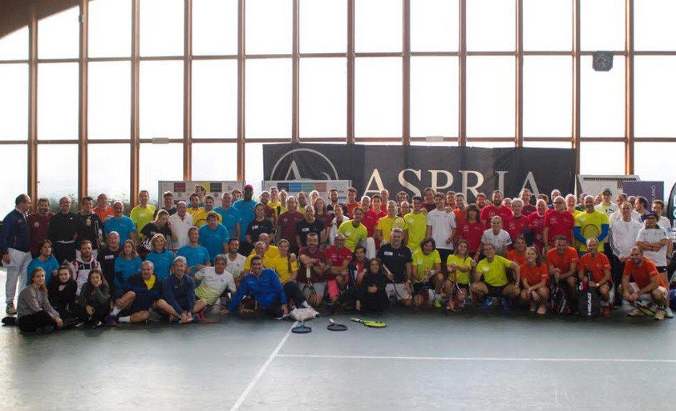 Telethon Tennis Day Aspria Charity Tournament all'Aspria Harbour Club