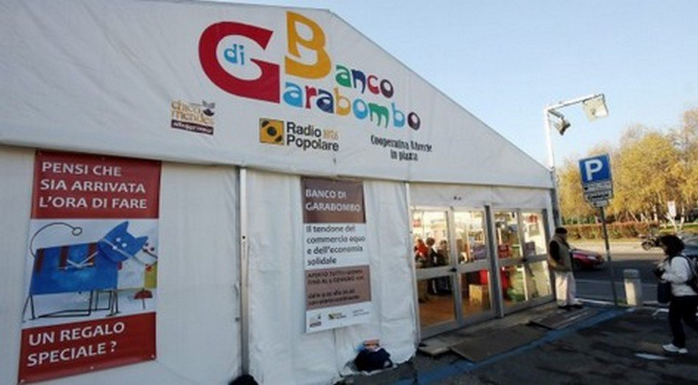 Banco di Garabombo in via Pagano
