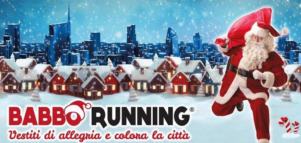 Babbo Running 2017 da piazza del Cannone