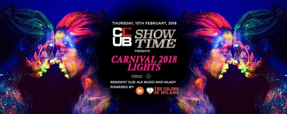 Carnival Lights: Carnevale al The Club