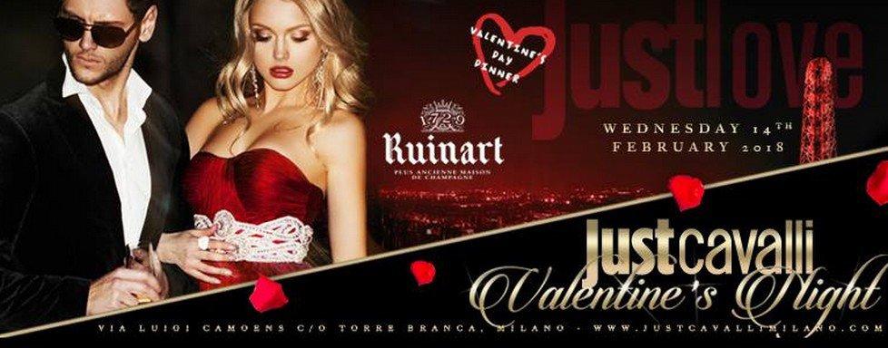 Valentine's Night: San Valentino al Just Cavalli