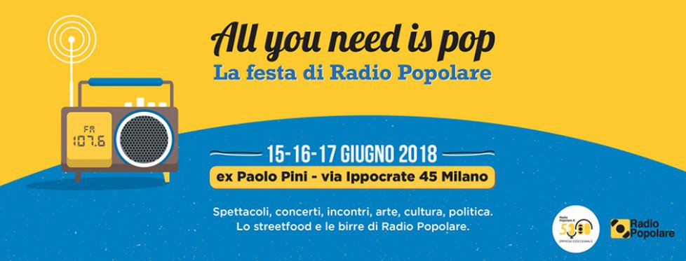 All You Need is Pop all'ex Pini