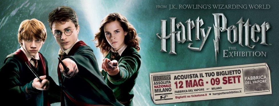 Milano, la mostra su Harry Potter
