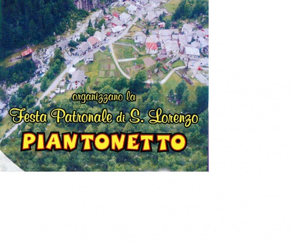 Patronale S. Lorenzo a Piantonetto