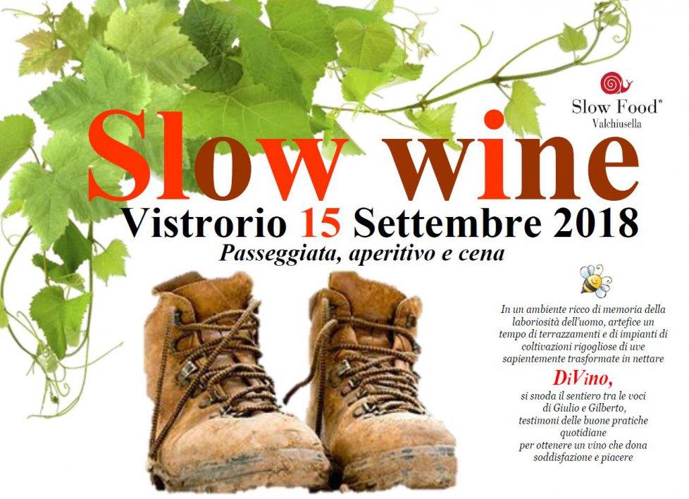 Slow wine a Vistrorio
