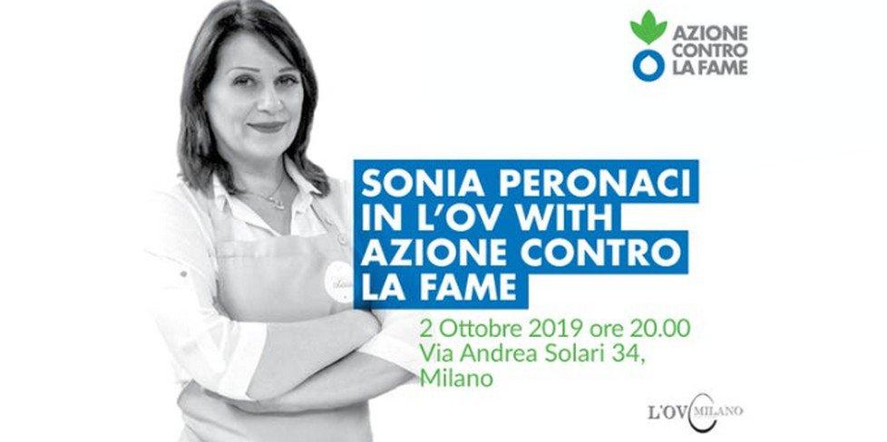 Sonia Peronaci a L'Ov Milano per Azione contro la Fame