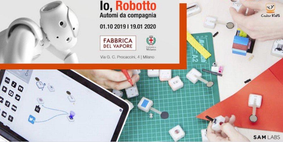 Laboratori di elettronica, circuiti e robotica per bambini alla Fabbrica del Vapore