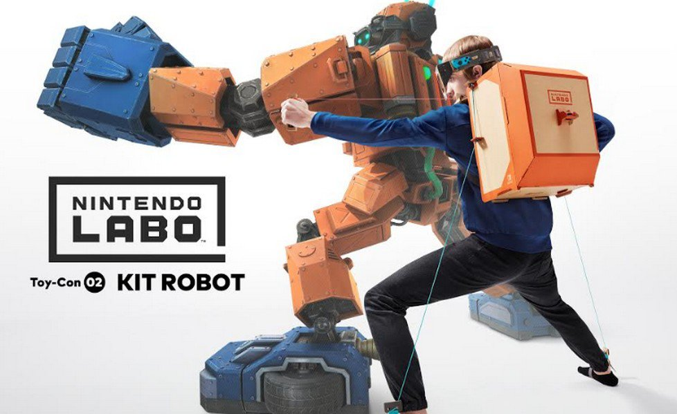 Nintendo Labo special guest a