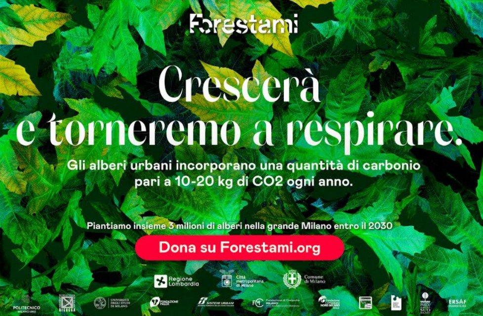 Forestami lancia la nuova campagna di comunicazione sui benefici della forestazione urbana