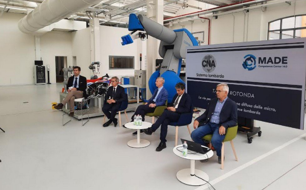 CNA Lombardia, MADE Competence Center Industria 4.0 e Regione Lombardia unite in favore della digitalizzazione diffusa delle micro, piccole e medie imprese lombarde