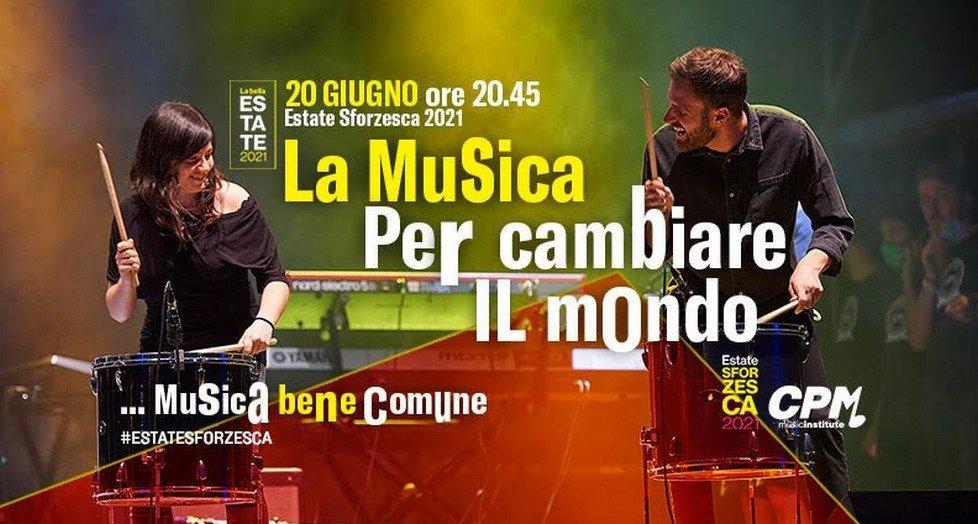 Gli studenti del CPM Music Institute tornano live al Castello Sforzesco