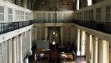 L'interno della biblioteca Roncioniana