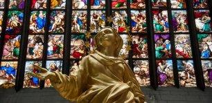 La Madonnina di Expo esposta in Duomo