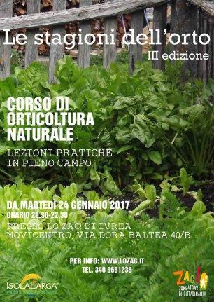 Orticoltura naturale a Ivrea