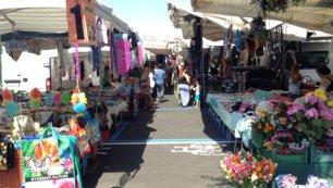Mercato in piazza del Mercato Nuovo