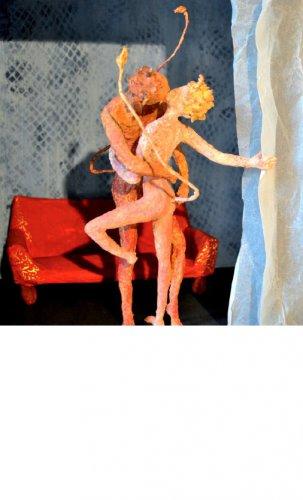 Fontanesi e le sculture di cartapesta