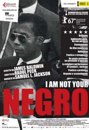 "Il documentario ""I Am Not Your Negro"" all'Omnia Center"