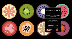 Wunder Mrkt alla Milano Food Week in via Tortona