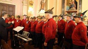 Il coro dell'Associazione nazionale alpini