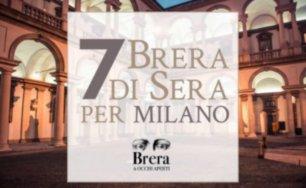 7 Brera di Sera per Milano