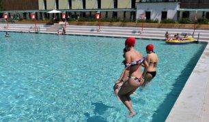 Ferragosto in piscina a Milano