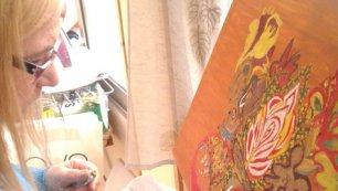 Mostra di quadri di Paoletta Portuesi