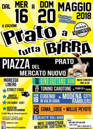 Prato a tutta birra - Festival della musica
