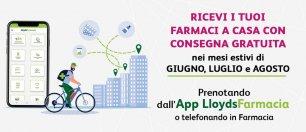 Consegna gratuita a domicilio dei farmaci con LloydsFarmacia