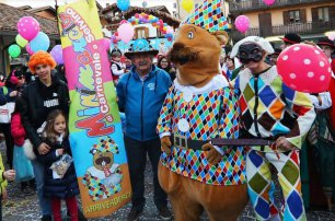 Minimarcia di Carnevale a Selvino