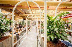 Terminato il restyling della nuova Food Court a Il Centro di Arese