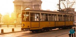 Tour di Milano in tram storico con Zafferano Leprotto e Neiade