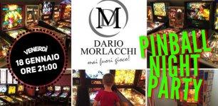 Pinball Night Party allo Spazio Morlacchi
