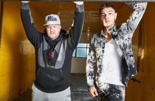 Emis Killa e Jake La Furia al Fabrique