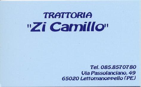 Trattoria Zi Camillo