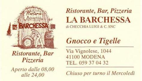 Birreria La Barchessa