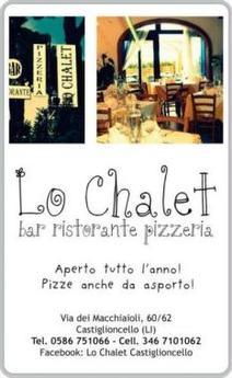 Ristorante Pizzeria Lo Chalet