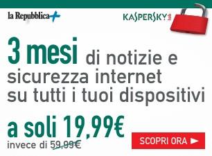 3 mesi di News e sicurezza internet su tutti i tuoi dispositivi a soli 19,99€
