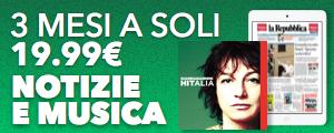 Per te 3 mesi di sfoglio su Repubblica+ e  3 mesi di musica con Deezer Premium +
