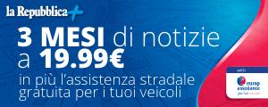 Con Repubblica+ e Europ Assistance hai assistenza stradale gratuita
