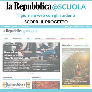 Vai al sito Repubblica@scuola