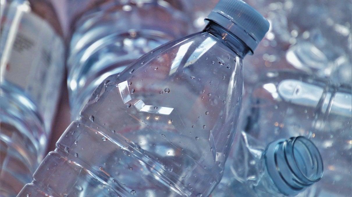 La seconda vita di una bottiglia di plastica