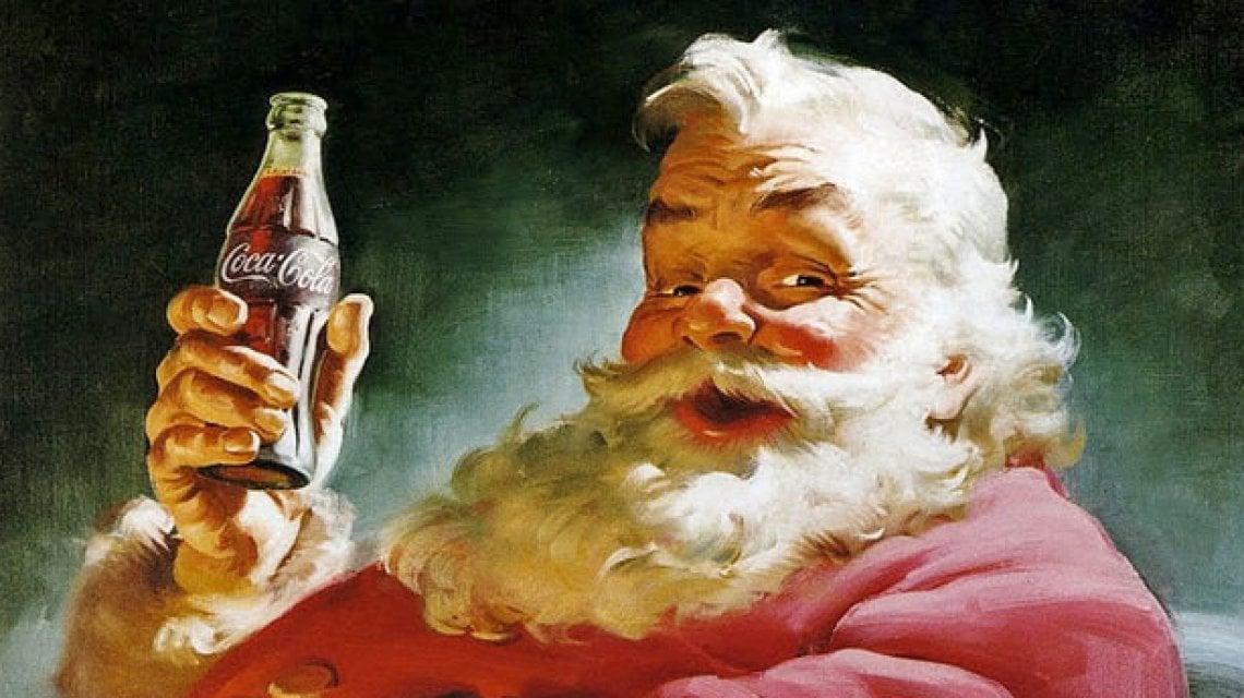 Coca Cola Babbo Natale.Coca Cola Quel Logo Immortale Nelle Mani Di Babbo Natale La Repubblica