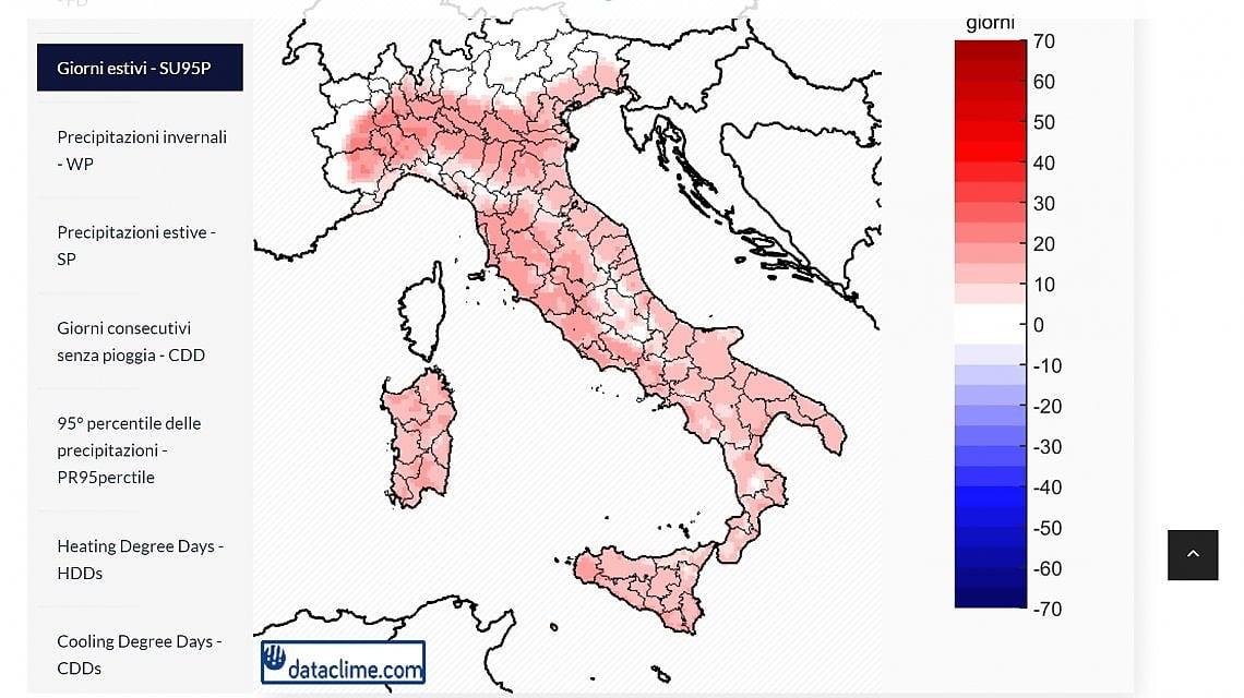 Italia Climatica Cartina.Manuale Di Sopravvivenza Nell Italia Della Crisi Climatica Ecco In Quali Zone Sara Meglio Vivere E Perche La Repubblica
